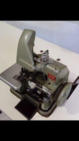Máquina overlock semi industrial
