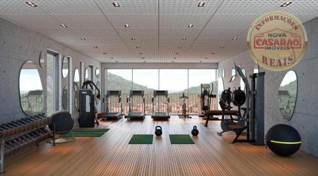 Apartamento com 1 dormitório à venda, 45 m² por R$ 207.000,00 - Canto do Forte - Praia Gra - Foto 10