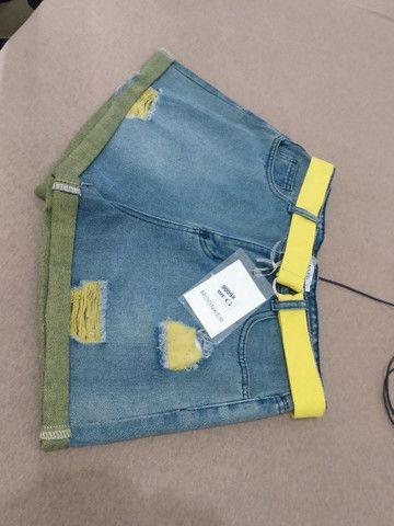 Shorts Jeans Novo - Foto 5