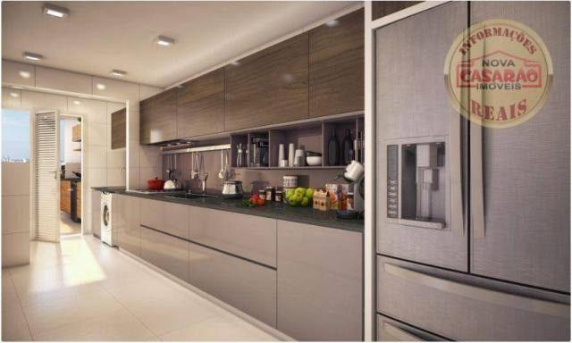 Apartamento com 2 dormitórios à venda, 77 m² por R$ 419.958 - Maracanã - Praia Grande - Foto 18