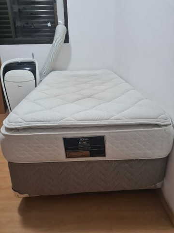 Cama Box com Colchão King Koil Viúva - 110cm X 198cm x 17cm - Foto 4
