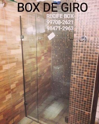 Box para banheiro em vidro temperado - Recife Box - * - Foto 2