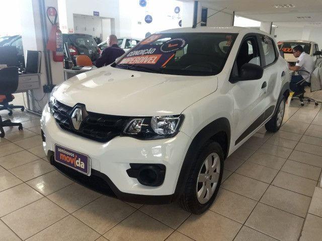 Renault Kwid Zen 1.0 2020 (100% do carro no cartão 6x sem juros) - Foto 3