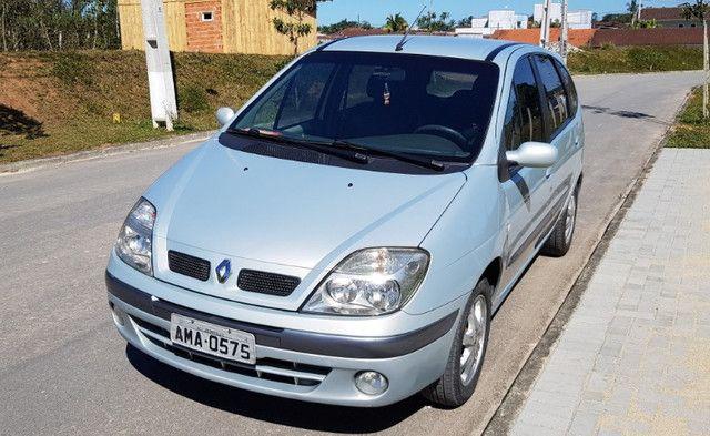 Renault Scénic 2.0 16V Privilége Plus. GNV e Gasolina. Cambio Aut. Top de linha - Foto 3