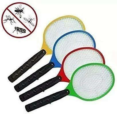 Raquete Para Matar Mosquitos E Moscas Recarregável110/220 - Foto 2