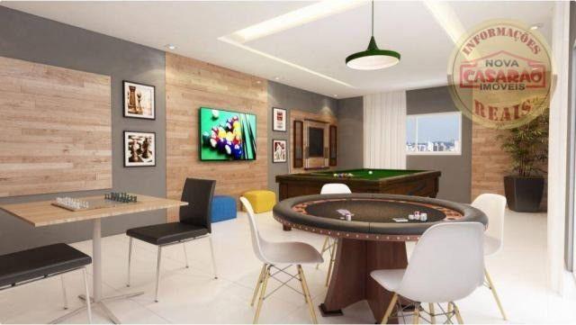 Apartamento com 2 dormitórios à venda, 77 m² por R$ 419.958 - Maracanã - Praia Grande - Foto 16