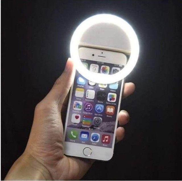 Ring Light Portátil para Celular - Foto 4