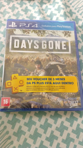 Days gone PS4 + PS plus 3 meses