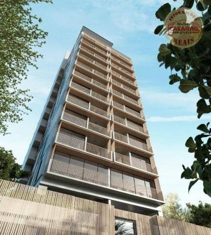 Apartamento com 1 dormitório à venda, 45 m² por R$ 207.000,00 - Canto do Forte - Praia Gra - Foto 12