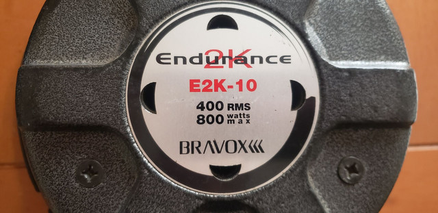 "Bravox Endurance 2K 10"" 400RMS Subwoofer alto falante - Foto 2"