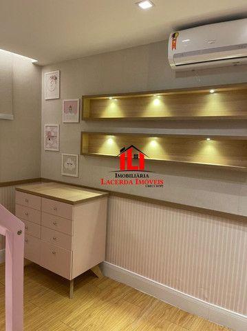 Mundi Resort, 96m², Mobiliado 100%, 14º andar, 3 quartos/suíte, 3 vagas - Foto 16