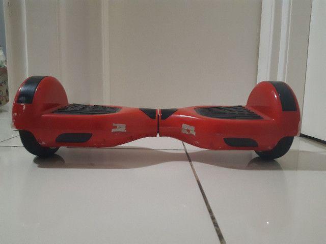 Hoverboard vermelho com bluetooth  - Foto 2