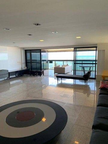 Apartamento para venda possui 349m² com 4 suítes na Orla da Ponta Verde - Maceió - AL - Foto 11
