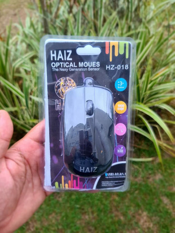 ?Mouse Óptico Haiz Com Fio Usb 2.0 Haiz 1000dpi Hz-018??<br> - Foto 6