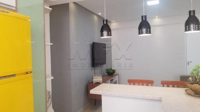 Apartamento à venda com 1 dormitórios em Centro, Sao vicente cod:V2049 - Foto 9