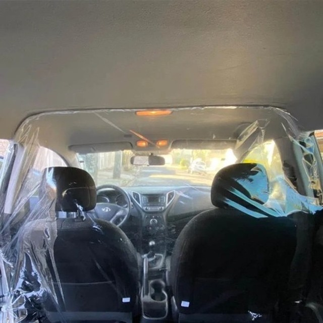Cortina Protetora automotivo.