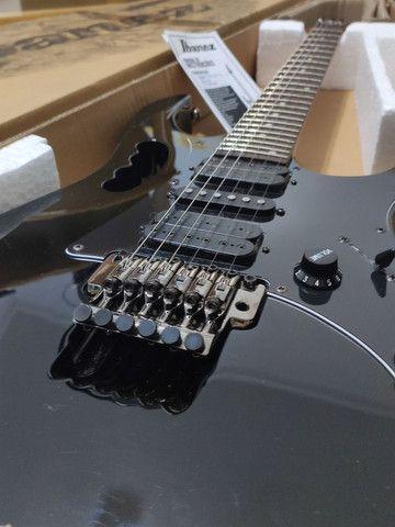Guitarra Ibanez JEM Jr. Black - na caixa (somente Maringá)