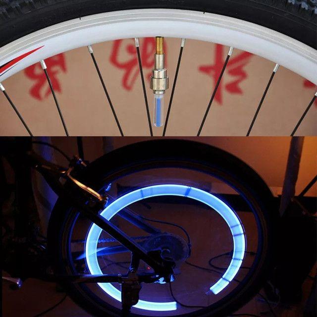 LED luminoso para bicicleta carro e moto