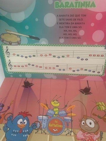 Livro Piano Galinha Pintadinha  - Foto 5