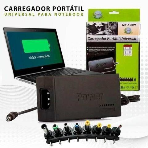 Fonte Carregador Universal Notebook Laptop Computador 120w
