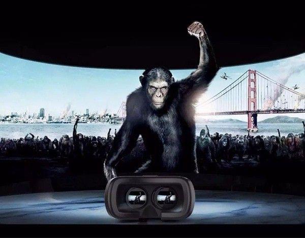 Óculos Realidade Virtual Com Controle Vr Box 3d Android Ios Promoção entrega grátis - Foto 3