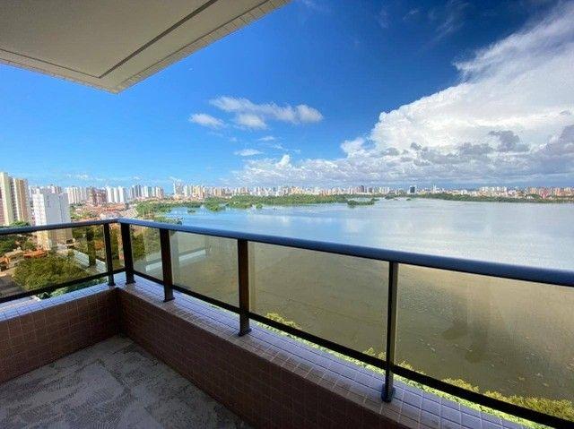 AB114 - Apartamento com 04 suítes/ frente lagoa/ nascente - Foto 6