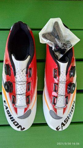 Sapatilha de mountain bike - Foto 2