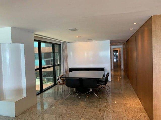 Apartamento para venda possui 349m² com 4 suítes na Orla da Ponta Verde - Maceió - AL - Foto 7
