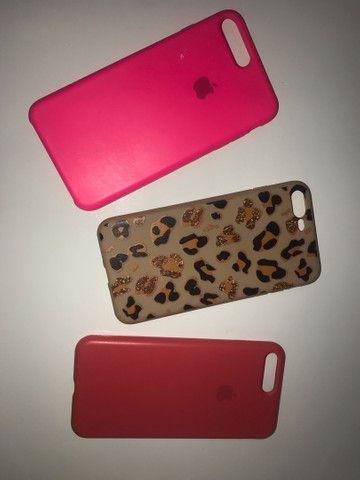 03 capas iPhone 7/8 plus  - Foto 2