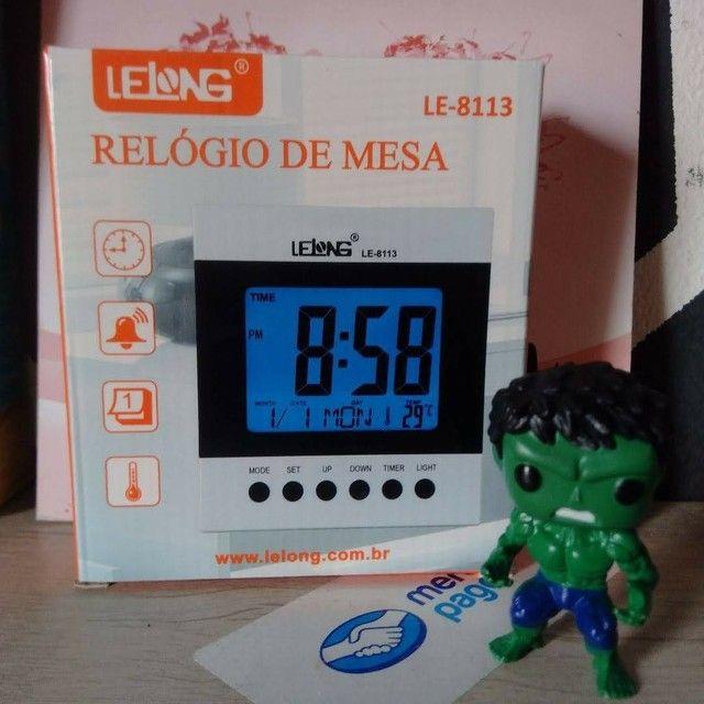 Relógio Digital de Mesa - Foto 5