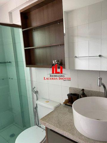 Mundi Resort, 96m², Mobiliado 100%, 14º andar, 3 quartos/suíte, 3 vagas - Foto 14