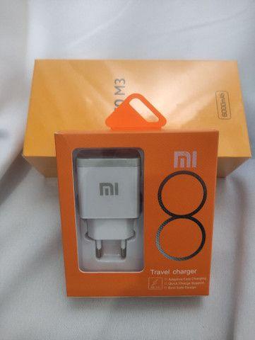 Carregador Xiaomi! Novo Lacrado com Entrega imeidata e garantia