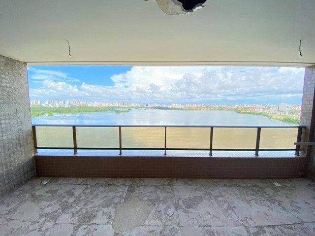 AB114 - Apartamento com 04 suítes/ frente lagoa/ nascente - Foto 5