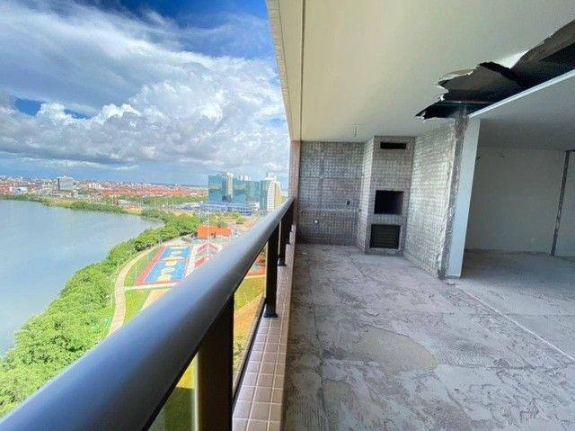 AB114 - Apartamento com 04 suítes/ frente lagoa/ nascente - Foto 3