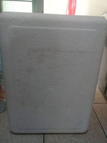 Caixa de isopor Grande com dreno - Foto 6