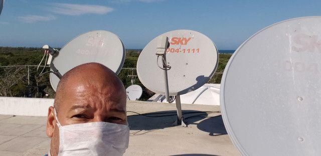 Marcio antenas sky oi claro vivo gvt e antena digital  - Foto 2