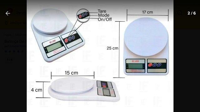 Balança Digital Eletrônica 1g a 10kg - Foto 2