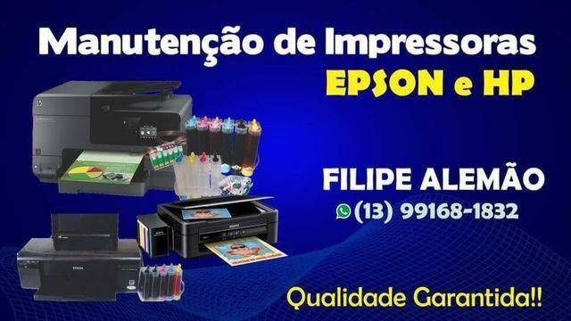 Manutenção de impressoras Epson
