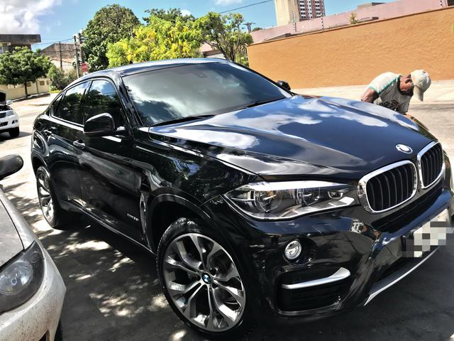 Bmw X6 X Drive 35i 3 0 Bi Turbo 2016 Interno Terracota