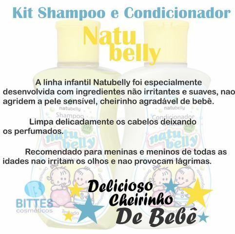 Colônia Infantil mais Shampoo e Condicionador Natubelly - Foto 4