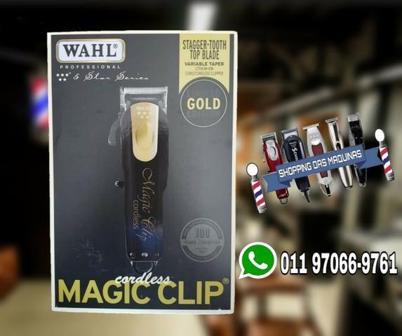 79a10c8af Wahl Magic clip cordless gold edição limitada - Beleza e saúde ...