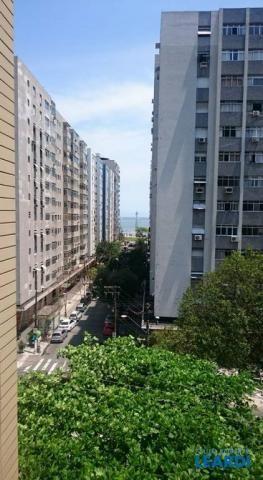 Apartamento para alugar com 3 dormitórios em Ponta da praia, Santos cod:483341 - Foto 2