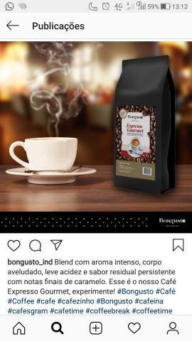 Grão de café clássico e gourmet