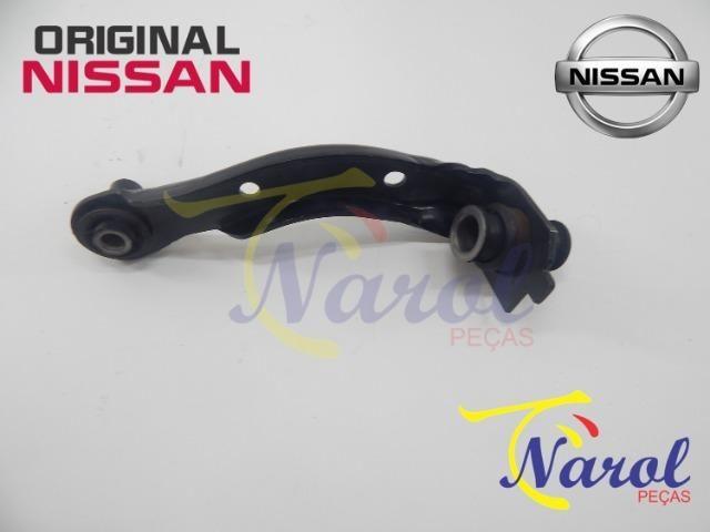 Braço Suporte Suspensão Nissan March, Versa, Tiida, Livina, Sentra, Kicks - Foto 3