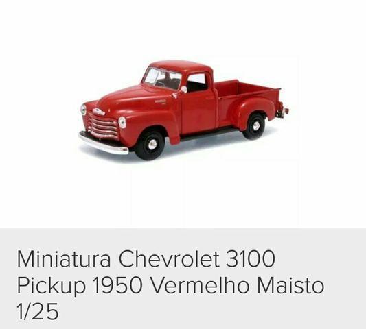 Miniatura Chevrolet 3100 - 1950