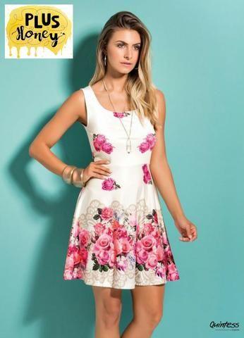 Vestido Branco Plus Size G 4648