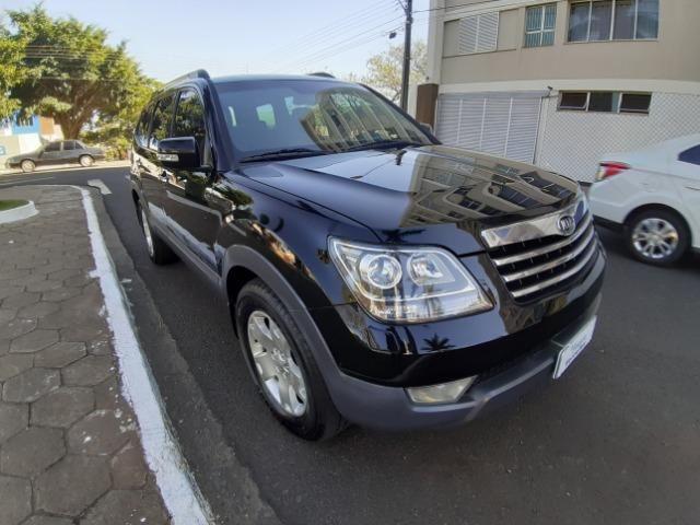 Kia mohave 3.0 v6 diesel 2011 preta - Foto 4