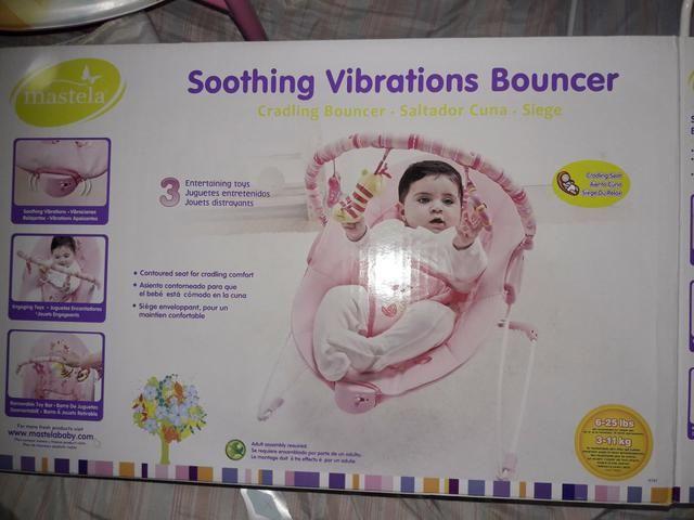 Cadeirinha de descanso vibratória - Foto 2