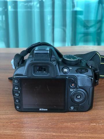 Câmera Nikon D3100 e Lente Nikon Nikkor 18-55mm (KIT) - Foto 3