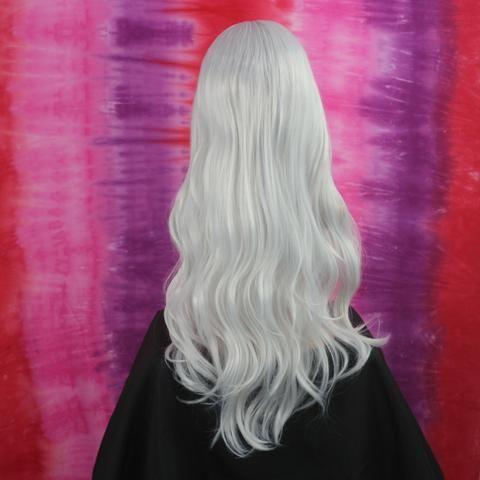 Peruca Wig Fibra Orgânica Branca - Foto 3